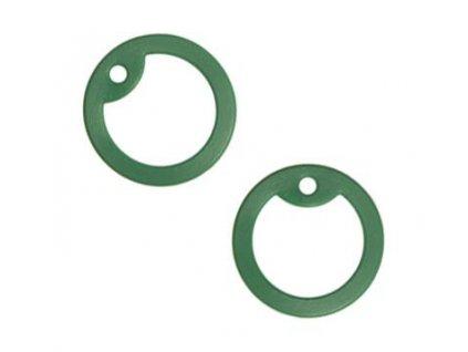 Gumička (tlumítka) silikonová k U.S. DOG TAGS tmavě zelená 1ks