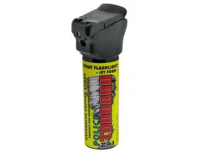 Sprejová svítilna TORNADO pepřový spray 63ml