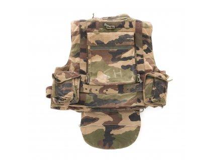 Neprůstřelná balistická vesta Francie camo CCE originál