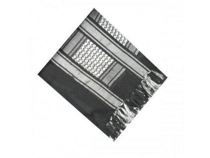 Šátek palestina černá/bílá (shemagh, arafat)
