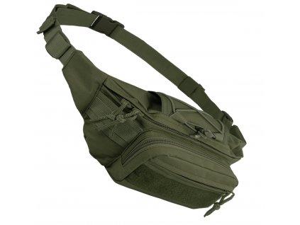 Ledvinka Kangoo waist pack oliv zelená