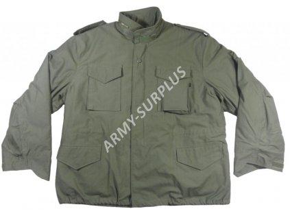 Polní kabát,bunda (parka) M65 oliv ALPHA s vložkou