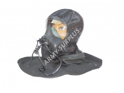 Kyslíková maska letecká RAF oxygen MK5 britská Velká Británie originál
