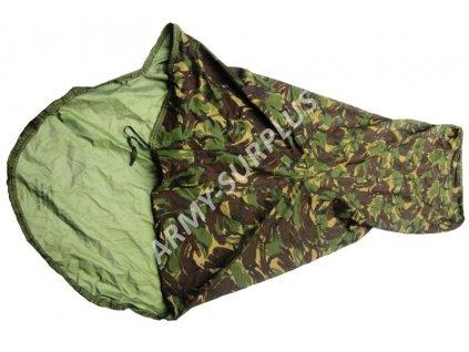 Povlak na spací pytel (spacák, žďárák, bivak) britský Velká Británie GORE-TEX DPM bivy cover originál