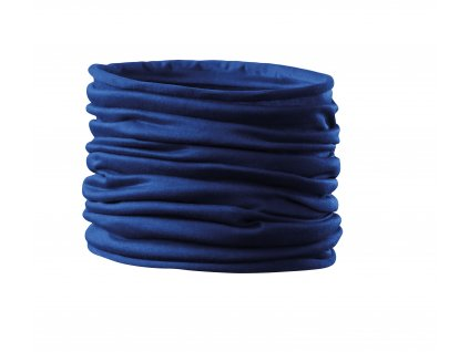 Nákrčník Twister modrý (multifunkční šátek)