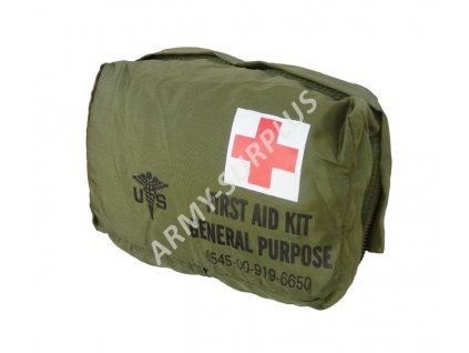 Lékárnička US First Aid Kit General Purpose nylon oliv originál