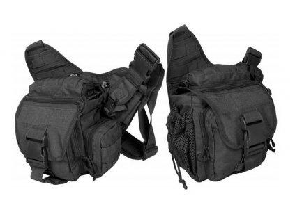Taška přes rameno Commander Texar černá