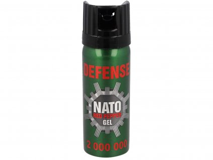 Pepřový sprej Defense Nato Red Pepper Gel 50ml 2000000