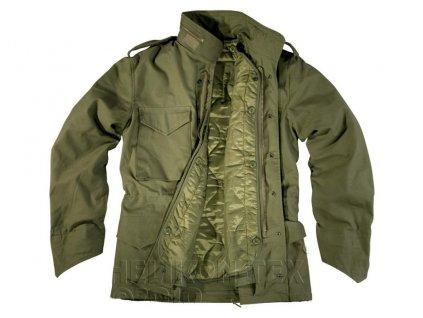 Polní kabát,bunda (parka) M65 oliv s vložkou Helikon KU-M65-NY-02