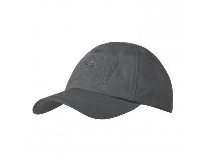 Čepice (kšiltovka) baseball šedá Helikon ripstop Shadow Grey CZ-BBC-PR-35