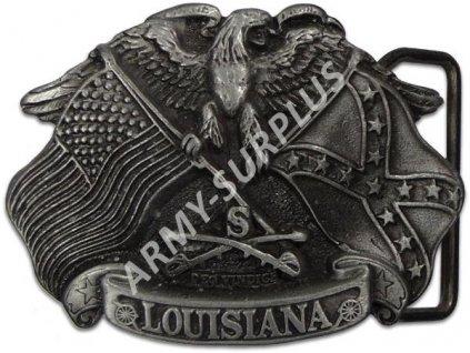 Přezka na opasek Western Louisiana starozinek B0963