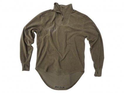 Mikina podvlíkací Norgie Velká Británie fleece MTP olive originál