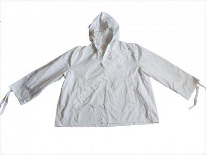 parka--bunda--bluza--snezna-acr-prevlekova-zimni-prevlecnik-original-bila