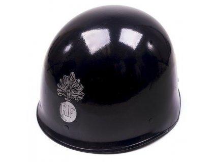 Helma (přilba) francouzské policie Gendarme modrá