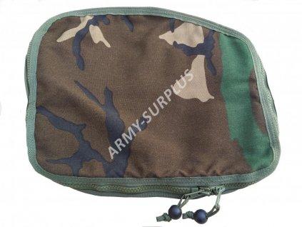 Horní víko k batohu US AERIAL (PSGC RH POCKET,kapsa,sumka) woodland originál