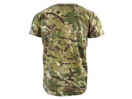 Triko (tričko) dětské BTP multicamo Velká Británie Kombat 170g