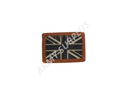 Nášivka vlajka Velká Británie malá pouštní