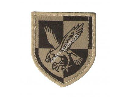 Nášivka Velká Británie 16 Air Assault Brigade pouštní velcro