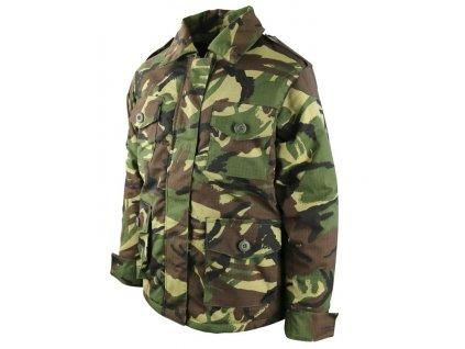 Polní kabát Safari (bunda) dětský DPM  woodland ripstop Velká Británie Kombat