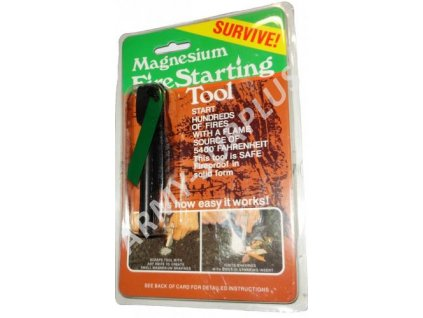 Magnésium multifunkční s křesadlem Survive 2v1