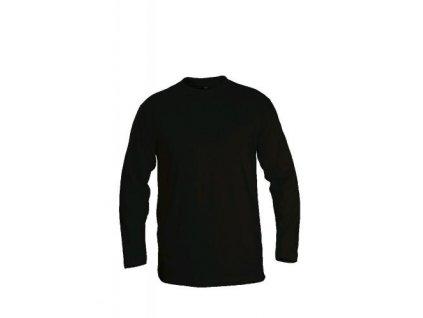 Tričko (triko) černé dlouhý rukáv