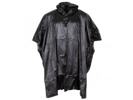 Pláštěnka poncho vinyl černé Commando