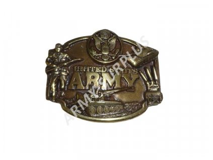 Přezka na opasek US ARMY - mosaz