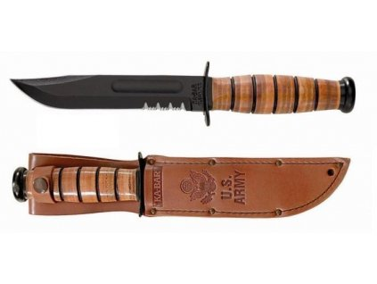 Nůž KABAR US ARMY Ka-Bar Fighting Knife Serrated Edge originál
