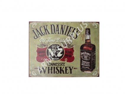 Plechová reklamní cedule Jack Daniels Tennessee Whiskey