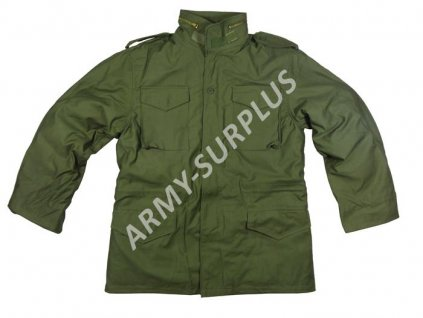 Polní kabát,bunda (parka) M65 oliv Texar s vložkou