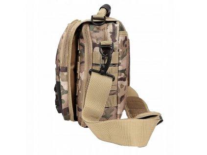 Taktická taška přes rameno INDY multicamo
