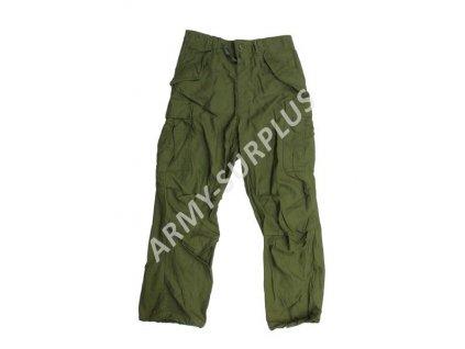 Kalhoty US M65 oliv originál použité
