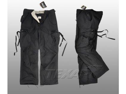 Kalhoty polní M65 černé Texar
