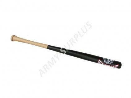 """Baseballová pálka American Tysonz 32"""" 81cm dřevěná černá"""