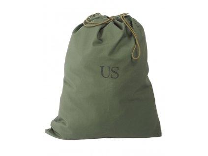 Pytel (vak, taška) bavlněný na prádlo US oliv original