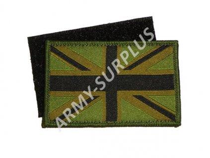 Nášivka vlajka Velká Británie Velcro