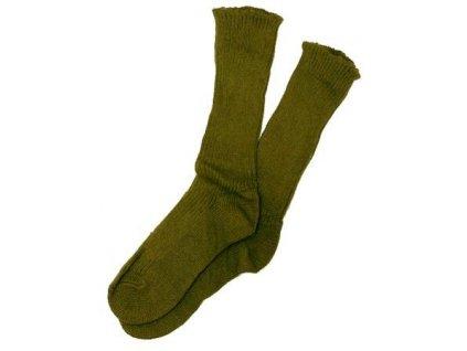 Ponožky zimní ČSLA vlněné AČR tzv.sibiřka