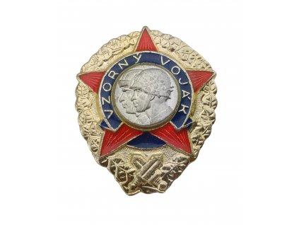 Odznak ČSLA vzorný voják originál