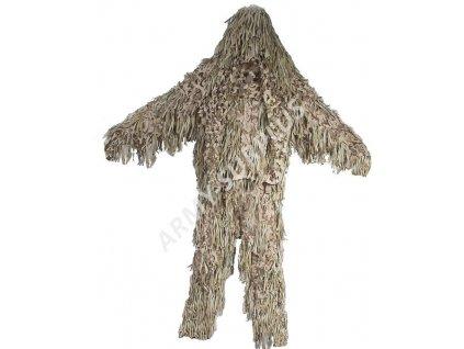 Maskovací oblek Hejkal ( Jackal Ghillie ) 3-D camo desert