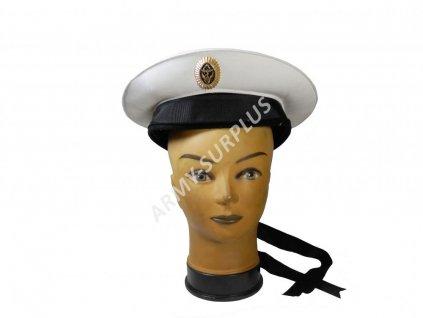 Brigadýrka (čepice) Rusko námořní bílá originál