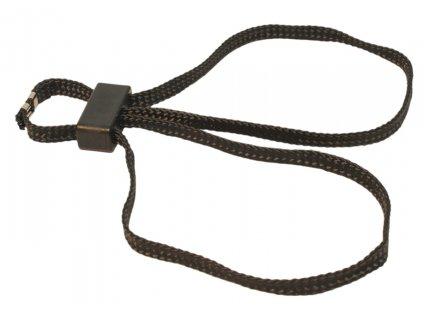 Pouta na ruce textilní  HT-01 jednorázové černé