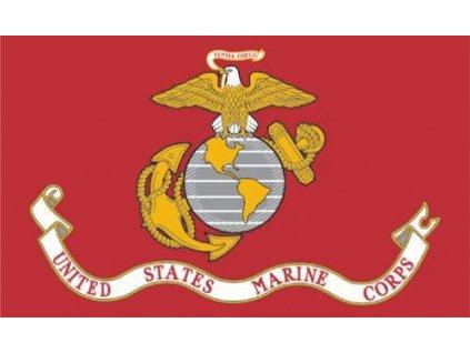 Vlajka USMC červená 90x150cm č.87