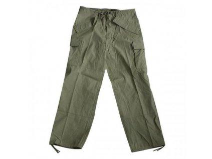 Kalhoty US ECWCS trilaminát oliv