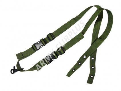 Jednobodový popruh Pantac One-point sling oliv pro vesty CIRAS