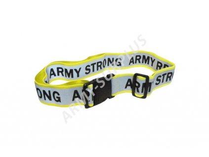 Opasek US ARMY STRONG RESERVE reflexní