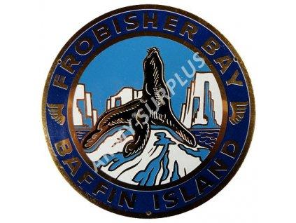 Plaketa FROBISHER BAY - BAFFIN ISLAND