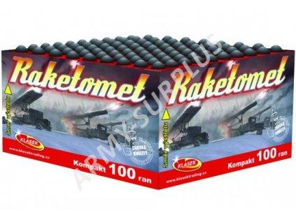 Kompaktní ohňostroj 2. třídy Raketomet 100 ran