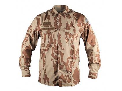 Košile 2000 s béžovým potiskem vz.95 desert AČR originál