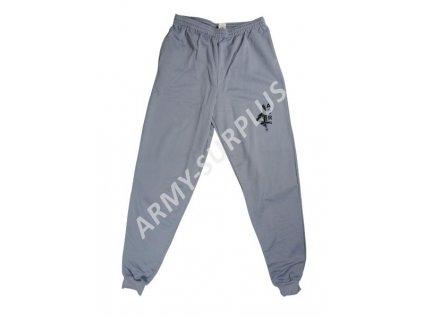 Kalhoty teplákové (tepláky) dlouhé šedé