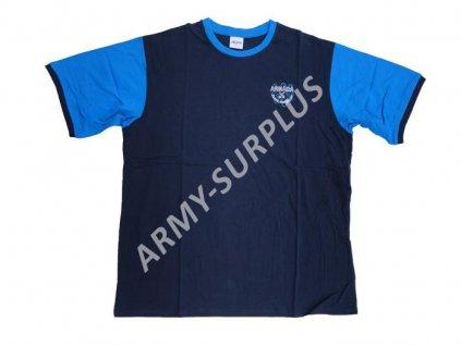 Tričko (triko) sportovní 06 DUO modré krátký rukáv AČR originál